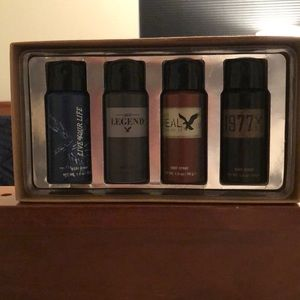 American Eagle Outfitter 4-Pack Body Spray